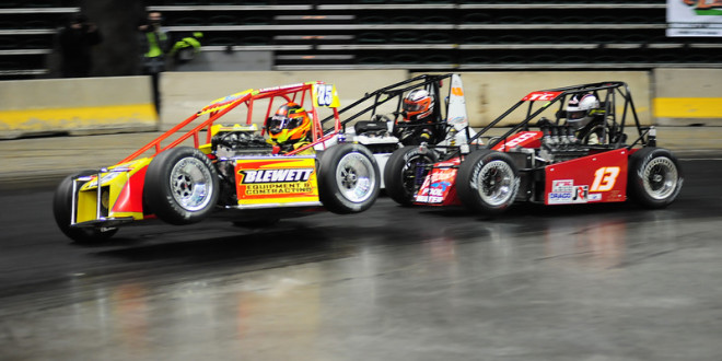 IRONTON TELEPHONE CO. SIGNS ON AS ALLENTOWN INDOOR RACE PRESENTING SPONSOR; ENTRIES POURING IN, TICKETS SELLING FAST