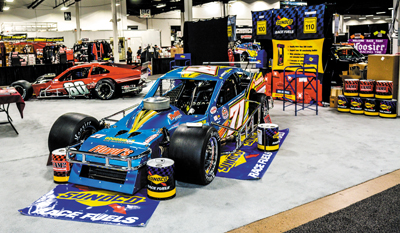 EXHIBITOR SPACE IS FILLING QUICKLY FOR THE POPULAR MOTORSPORTS RACECAR AND TRADE SHOW