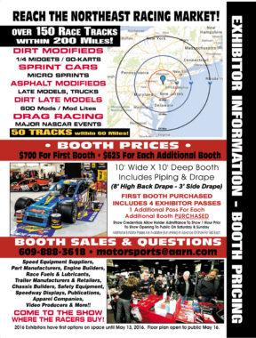 Motorsports 2017 Exhibitor Information