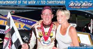 NEWSMAKER OF THE WEEK // TED CHRISTOPHER