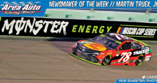 Newsmaker of the Week // Martin Truex, Jr