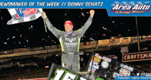 Newsmaker of the Week // Donny Schatz