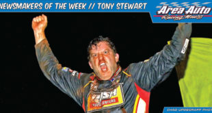 Newsmaker of the Week // Tony Stewart