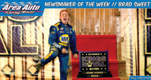 Newsmaker of the Week // Brad Sweet