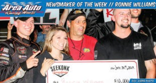 Newsmaker of the Week // Ronnie Williams