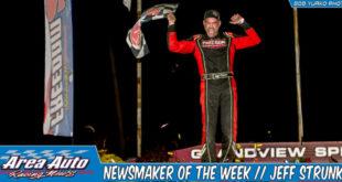 Newsmaker of the Week // Jeff Strunk