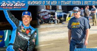 Newsmaker of the Week // Stewart Friesen & Brett Deyo
