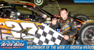 Newsmaker of the Week // Andrew Krause