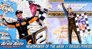 Newsmaker of the Week // David Gravel & Stewart Friesen