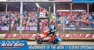 Newsmaker of the Week // Eldora Speedway